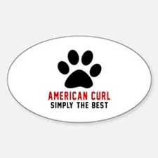 American Curl Simply The Best Cat D Decal