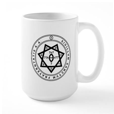 Sigillum Sanctum Fraternitati Large Mug
