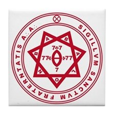 Sigillum Sanctum Fraternitati Tile Coaster