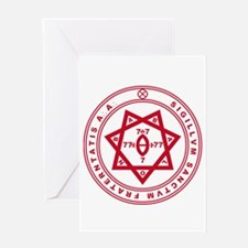 Sigillum Sanctum Fraternitati Greeting Card