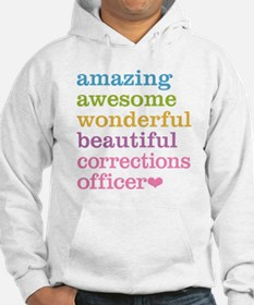Amazing Corrections Officer Jumper Hoody