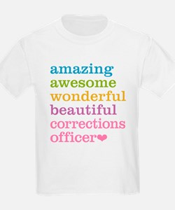 Amazing Corrections Officer T-Shirt