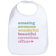 Amazing Corrections Officer Bib