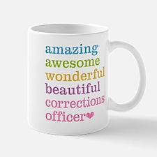 Amazing Corrections Officer Mugs