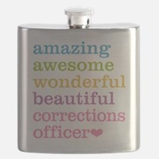 Amazing Corrections Officer Flask