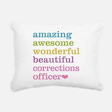 Amazing Corrections Offi Rectangular Canvas Pillow