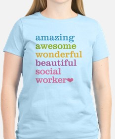 Amazing Social Worker T-Shirt