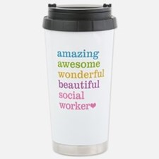 Amazing Social Worker Stainless Steel Travel Mug