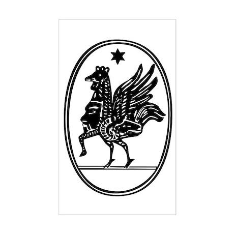 Gnostic Seal Rectangle Sticker