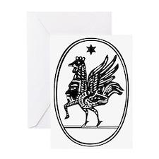 Gnostic Seal Greeting Card