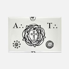 Sacred Seal of the ART Rectangle Magnet