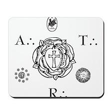 Sacred Seal of the ART  Mousepad