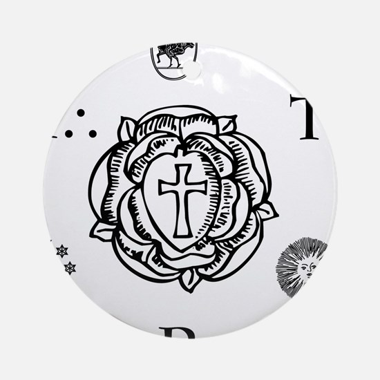 Sacred Seal of the ART  Ornament (Round)