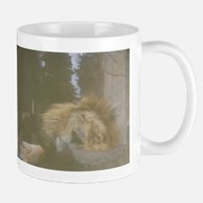 Sleeping Lion Mugs