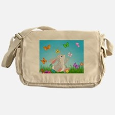 Bunny & Butterflies Messenger Bag