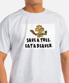 Cute Save the trees pine trees T-Shirt