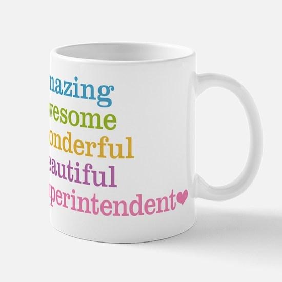 Amazing Superintendent Mugs