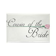 Elegant Cousin of the Bride Rectangle Magnet