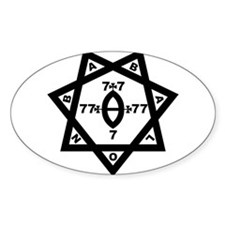 Babalon Seal Oval Decal