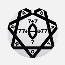Babalon Seal Ornament (Round)