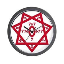 Babalon Seal Wall Clock