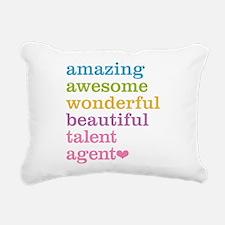 Amazing Talent Agent Rectangular Canvas Pillow