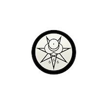 Crowley Seal Mini Button