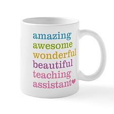 Amazing Teaching Assistant Mugs