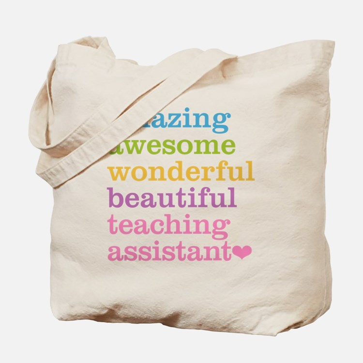 Amazing Teaching Assistant Tote Bag