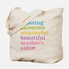 Amazing Teachers Aide Tote Bag