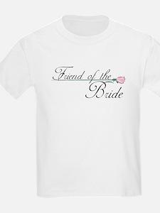 Elegant Friend of the Bride T-Shirt