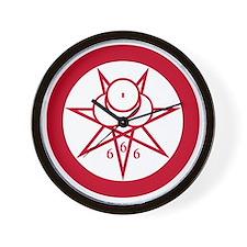 Crowley Seal Wall Clock