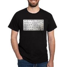 Cute Sheet music T-Shirt