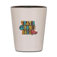 Funny 70s Shot Glass