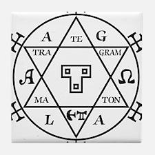Hexagram of Solomon Tile Coaster