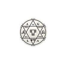 Hexagram of Solomon Mini Button