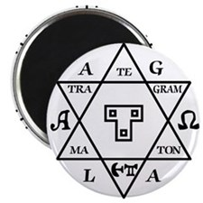 Hexagram of Solomon Magnet
