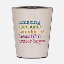 Amazing Water Boy Shot Glass