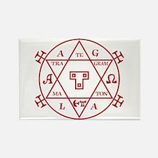 Hexagram of Solomon Rectangle Magnet