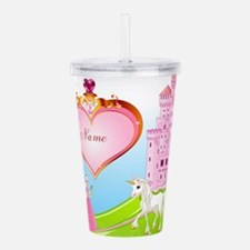 Princess Acrylic Double-wall Tumbler