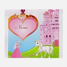 Princess Throw Blanket