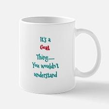 Goat Thing Mugs