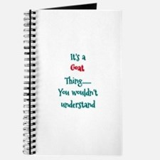 Goat Thing Journal