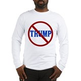 Anti donald trump Long Sleeve T-shirts