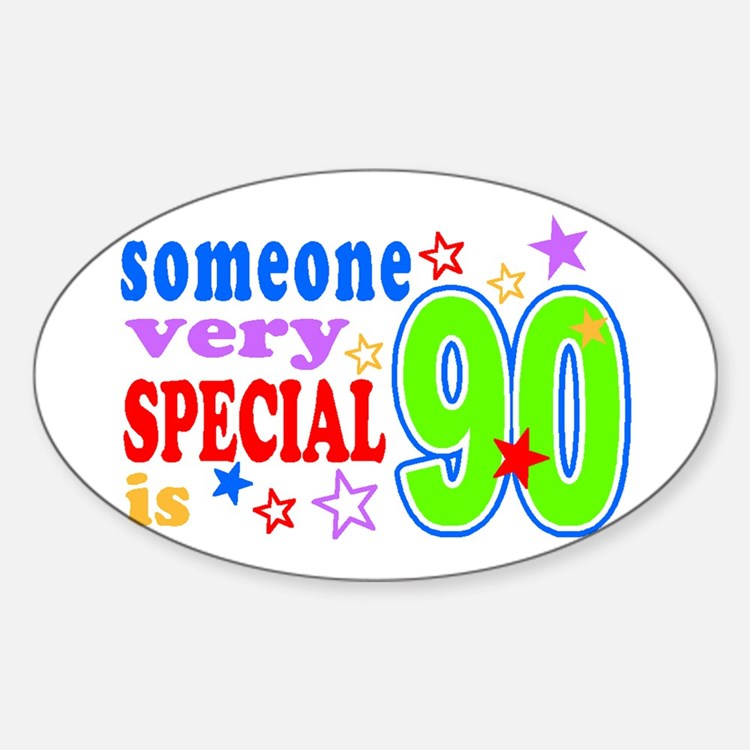 Cute Special great grandma Sticker (Oval)