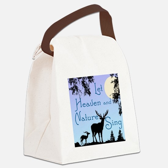 CHRISTMAS - LFET HEAVEN AND NATUR Canvas Lunch Bag