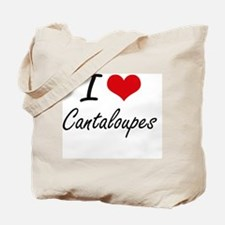 I love Cantaloupes Artistic Design Tote Bag