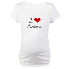 I love Cantonese Artistic Design Shirt