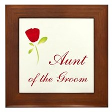 Red Groom's Aunt Framed Tile