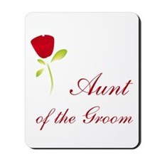 Red Groom's Aunt Mousepad